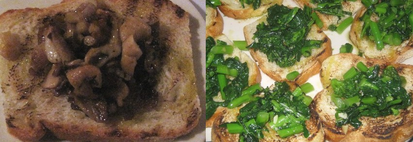 rabe bruschetta recipes dishmaps spicy broccoli rabe bruschetta ...